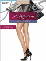 Hanes Women's Silk Reflections® Control Top Sandalfoot Pantyhose - Travel Buff