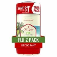 Old Spice Fiji Deodorant 2 Count