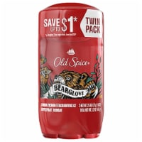 Old Spice Wild Collection Bearglove Anti-Perspirant & Deodorant 2 Count