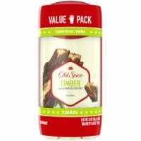 Old Spice Fresh Collection Timber with Sandalwood Deodorant Twin Pack