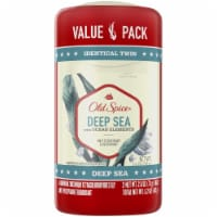 Old Spice Fresh Collection Deep Sea with Ocean Elements Antiperspirant & Deodorant 2 Pack