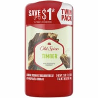 Old Spice Fresh Collection Timber with Sandalwood Anti-Perspirant & Deodorant 2 Count