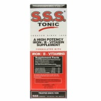 S.S.S. Tonic Iron & B-Vitamins Supplement