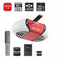 Craftsman 1/2 hp Belt Drive WiFi Compatible Smart Garage Door Opener - Case Of: 1; - Count of: 1