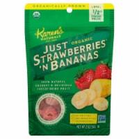 Karen's Naturals Just Strawberries and Bananas - 2 oz