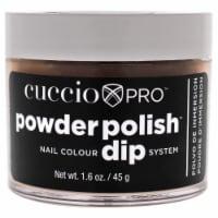 Cuccio Pro Powder Polish Nail Colour Dip System  Caramel Kisses Nail Powder 1.6 oz - 1.6 oz