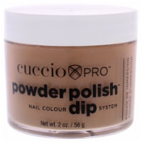 Cuccio Pro Powder Polish Nail Colour Dip System  Brown Sugar Nail Powder 1.6 oz - 1.6 oz
