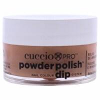 Cuccio Pro Powder Polish Nail Colour Dip System  Brown Sugar Nail Powder 0.5 oz - 0.5 oz