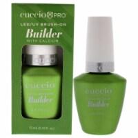 Cuccio Pro LEDUV BrushOn Builder Gel with Calcium Nail Polish 0.43 oz