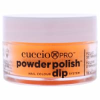 Cuccio Pro Powder Polish Nail Colour Dip System  Neon Orange Nail Powder 0.5 oz - 0.5 oz