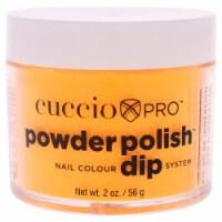 Cuccio Pro Powder Polish Nail Colour Dip System  Neon Orange Nail Powder 1.6 oz - 1.6 oz