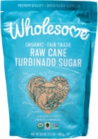 Wholesome Organic Raw Cane Turbinado Sugar