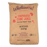 Wholesome! Organic Evaporated Cane Juice Sugar