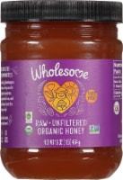 Wholesome Organic Raw Unfiltered Honey