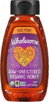 Wholesome Sweeteners Fair Trade Organic Raw Unfiltered Honey