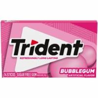 Trident Bubblegum Sugar Free Gum