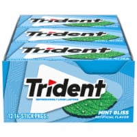 Trident Sugar Free Mint Bliss Gum