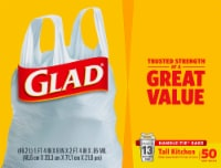 Glad Tall Handle-Tie 13 Gallon Kitchen Bags