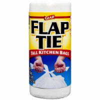 Glad  Tall Kitchen Bags With Flap Tie