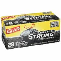Clorox CLO78381 13 gal 0.95 Mil Glad Kitch Drawstring Tall Kitchen Trash Bags - 150 Count - 1