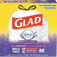 Clorox CLO78902 13 Gal OdorShield Drawstring Trash Bags