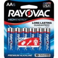 Rayovac Alkaline Batteries - 6 pack - AA