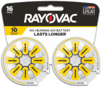 Rayovac® Size 10 Hearing Aid Batteries