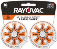Rayovac® Size 13 Hearing Aid Batteries