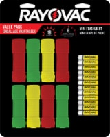 Rayovac Mini Flashlight Value Pack