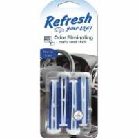 Refresh Air Freshener,Stick,New Car,PK4  09588 - 1