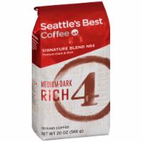 Seattle's Best Level 4 Medium-Dark & Rich Ground Coffee - 20 oz
