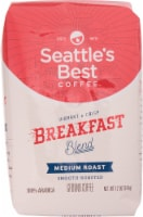Seattle's Best Medium Roast Breakfast Blend Ground Coffee