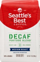 Seattle's Best Coffee Medium Roast Portside Blen Decaf Ground Coffee