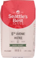 Seattle's Best 6th Avenue Bistro Dark Roast Ground Coffee
