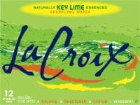 LaCroix Key Lime Sparkling Water