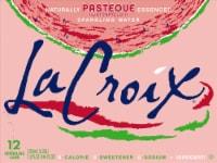 LaCroix Pasteque (Watermelon) Sparkling Water - 12 cans / 12 fl oz