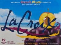 LaCroix Beach Plum Sparkling Water - 12 cans / 12 fl oz