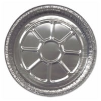 Durable Packaging DPK28030500 8 in. Rounds Aluminum Foil Containers - 1