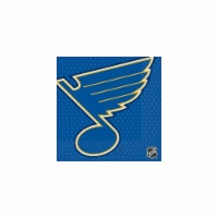 Amscan 513821 St. Louis Blues Lunch Napkins - Pack of 96