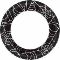 Amscan 301139 Spider Web 10 Lunch Plate - 40 Piece