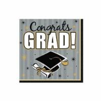Amscan Congrats Grad Luncheon Napkins