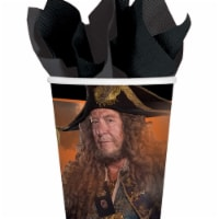 Amscan 259926 9 oz Pirates of the Caribbean Paper Cups - 8 Piece