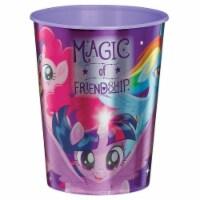 Amscan 307217 16 oz My Little Pony Friendship Adventures Plastic Favor Cup
