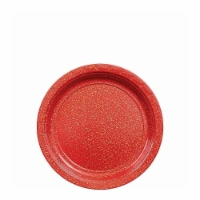 Amscan 306658 Prismatic Red Dessert Plate, Pack of 8
