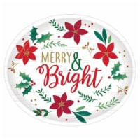 Christmas Wishes Oval Plates - 3