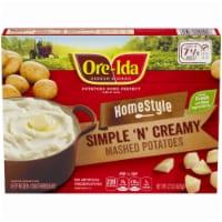 Ore-Ida Home-Style Simple 'N' Creamy Mashed Potatoes - 22 oz
