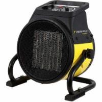 World Marketing EUH1465 Electric Workplace Heater, Black & Yellow - 1