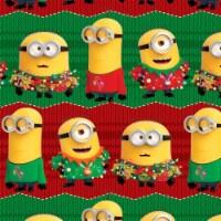 Plus Mark Minions Gift Wrap