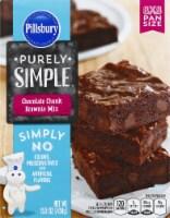 Pillsbury Purely Simple Chocolate Chunk Brownie Mix