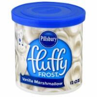 Pillsbury Fluffy Frost Vanilla Marshmallow Frosting - 12 oz